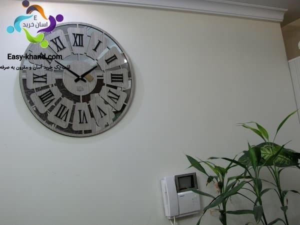 ساعت دیواری ایستا مدل مارال