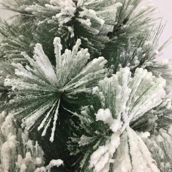 درخت کریسمس سوزنی برفی 90 سانتی متر