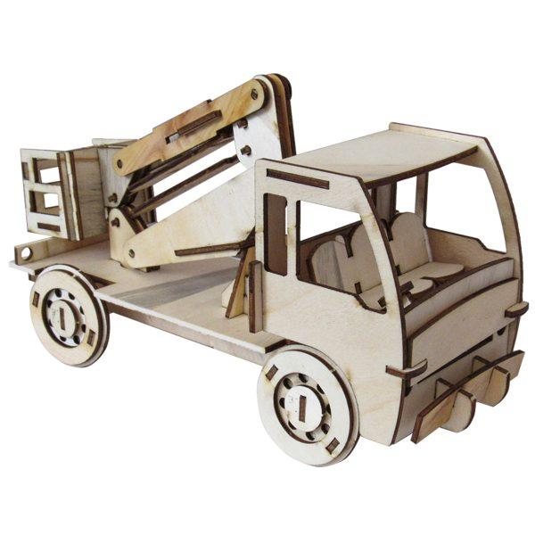 پازل سه بعدی چوبی مدل بارابر