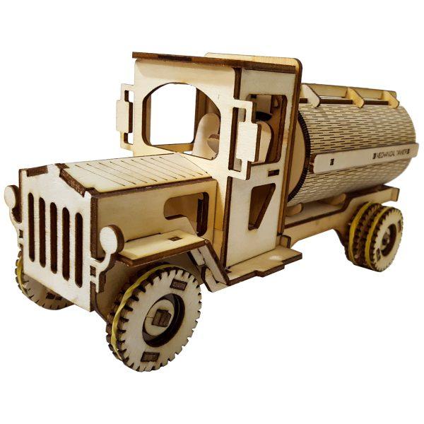پازل سه بعدی چوبی مدل تانگر