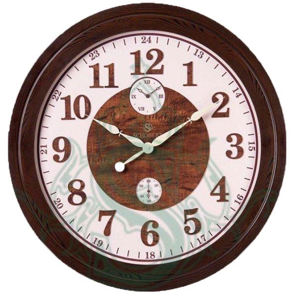 ساعت دیواری چوبی شوبرت