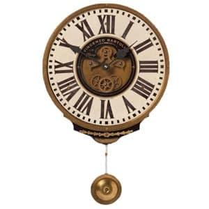 ساعت دیواری چوبی پاندول دار