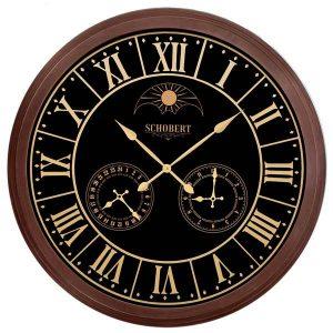 خرید ساعت دیواری چوبی کلاسیک