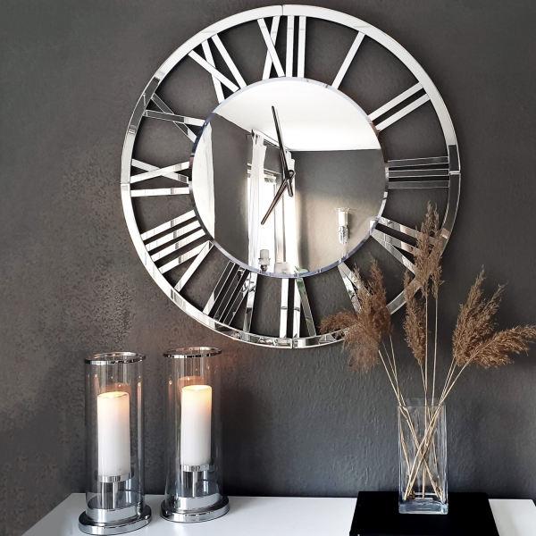 ساعت دیواری فلزی