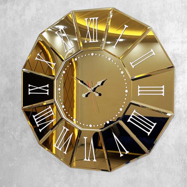 خرید ساعت دیواری آینه ای