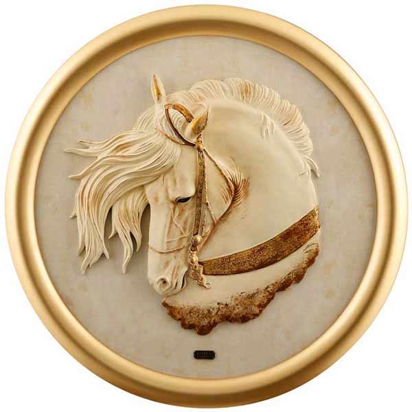 تابلو دست ساز طرح اسب
